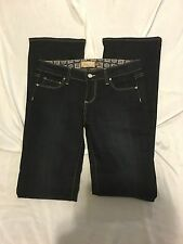 Paige Benedict Canyon High Rise Bootcut Studded Pocket Jeans in Atlantis 26 X 34