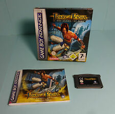Nintendo Game Boy Advance ~ Prince of Persia-the Sands of Time con embalaje original & instrucciones