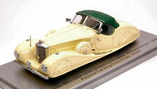 Mercedes 540k E & R 1936 Personal Car King Ghazi Limited Edition 250 pcs 1:43