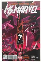 Ms Marvel 16 NM 9.4 First Kamala Khan Carol Danvers Captain Marvel Meeting 2015