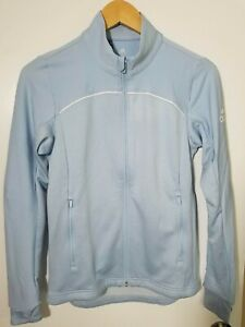 1 NWT ADIDAS WOMEN'S JACKET, SIZE: X-SMALL, COLOR: LIGHT BLUE (J113)