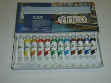 Peinture a l'huile, set de la marque ARTICO,12 teintes.