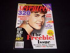 2012 MAY SEVENTEEN MAGAZINE - JUSTIN BIEBER - BEAUTIFUL FASHION ISSUE - D 1635