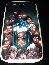 Doctor Who Cover Case Samsung S3 11 Doctors Clock Time Travel Telephone Booth
