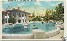 WADING POOL, O'FALLON PARK, ST. LOUIS, MO. MISSOURI