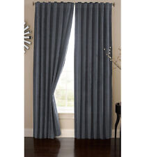 Absolute Zero Home Theater Total Blackout Curtain Bradley Stone Blue 50 x108