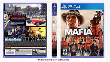 XBOX PS4 Mafia 2 Definitive CUSTOM REPLACEMENT CASE NO DISC SEE DESCRIPTION