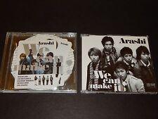 ARASHI CD LOT OF 2  We can make it! Japan Limited & Regular Edition with obi