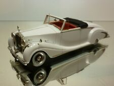 ROLLS ROYCE SILVER WRAITH ROADSTER 1900 - WHITE 1:43 - EXCELLENT -SUPER RARE -31