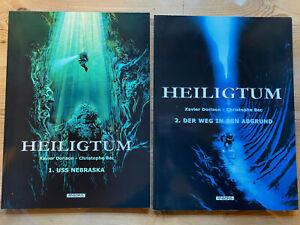 Comics HEILIGTUM Nr. 1 + 2 ; Arboris Softcover