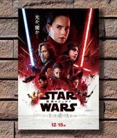 T-07 Art Poster Star Wars The Last Jedi VIII 2017 Movie Hot Silk 24x36 27x40IN