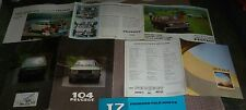 Catalogue Brochure Prospekt Katalog Peugeot 204 104