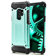 Cover for Samsung Galaxy S9+ / S9 Plus Bumper Shell Shockproof Rubber Turquoise
