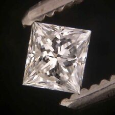 "EGL-USA Certed 0.57ct PRINCESS cut diamond ""J"" SI-1"