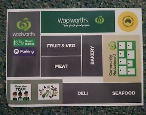 Woolworths Bricks Sticker Sheet  Brand New Compatible With Lego & other brands
