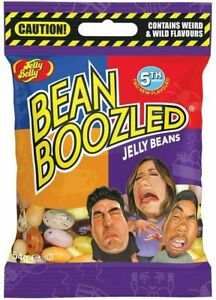 6x Jelly Belly Bean Boozled 5th Edition 54g Refill Candy Bags Crazy Flavours