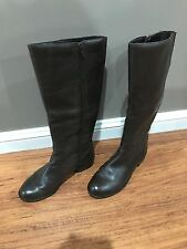 "Regatta New ladies, Size 6.5, Long Brown Boots, Called ""Daena"", Low Heel"