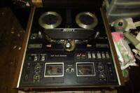 Sony Reel to Reel Tapecorder Model TC-580 - As Is for Parts or Repair