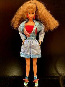 1990 Mattel Barbie All American Teresa (Steffie Face) RARE HTF - DRESSED!  WOW!!