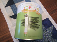 Thrive Freeze Dried Food Green Beans expires 2037 #10 can