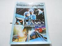 AUG 1982 AMERICAN CINEMATOGRAPHER magazine (UNREAD) TRON
