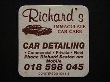 RICHARD'S IMMACULATE CAR CARE COASTER