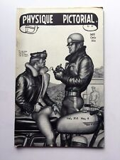 February 1968 Physique Pictorial Gay Men's Erotic Magazine w Tom of Finland Art