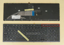 New for HP Zbook 15 G3 17 G3 Keyboard backlit Pointer Spanish Teclado Reprint
