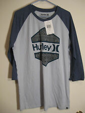 Hurley Wedged Mens Premium Fit Tshirt NWT XL Nice Graphic Cotton/Poly