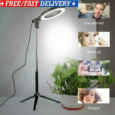 Studio Ring LED Light Photo Video Dimmable Lamp Light Tripod Selfie Camera Phone