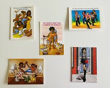 5 x POC 'Girlfriend' Greeting Cards with envelopes