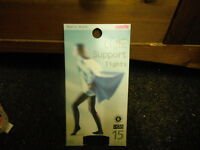BHS Nearly BLack Small 15 Denier Light Support Tights