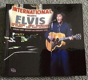 Elvis Presley - International Hotel Aug. 1969 - Jan./ Feb. 1970 MRS 3-CD Set