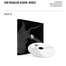 BTS Vol 2 BANGTAN BOYS KPOP 2nd Album WINGS [ W Version ] CD+Photobook+Photocard