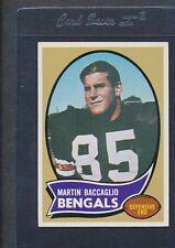 1970 Topps #187 Martin Baccaglio Bengals EX/MT *1947