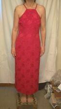 Vestido De Fiesta Rojo Larga Vintage