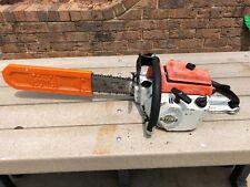 "Nice Vintage STIHL 041 AV Gas Powered Chainsaw w/ 22"" Bar & Chain - Runs!"