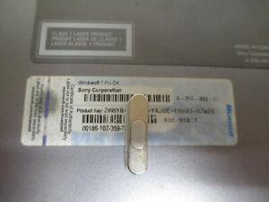 Broken Laptop Part With Windows 7 Pro COA Licence Sticker (6006)