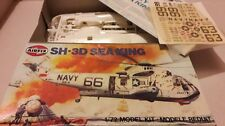 AIRFIX Apollo Sea King SH-3D Recovery Helicopter Model Kit Complet Boxed