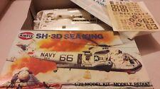 Airfix Apollo Mar Rey SH-3D helicóptero modelo kit completo en caja de recuperación