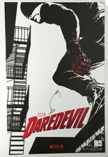 NYCC Netflix Daredevil Joe Quesada Signed Promo Art Poster Black and White