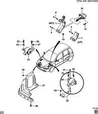 MOUNT, Auto Transmission Mounting, GENUINE GM 96535505, 2004-2014 Aveo