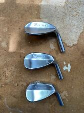 Miura no paint fill wedges 51* , 55*,  59* HEADS ONLY