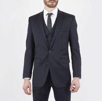 Men's Ben Sherman Kings Peacoat Suit Jacket Blue Slim Fit BNWT RRP £225