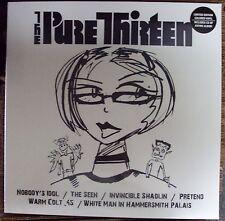 PURE THIRTEEN/HOT BLOOD split LP SEALED color vinyl w/CD hardcore-punk