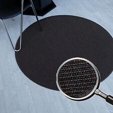 Rond Tapis sisal marron noir très bien avec envers non-tissé Ø 195 cm NEUF