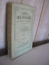 MALTE-BRUN / Annales des voyages Maroc Spitzbergen Cochinchine Afrique ...1868