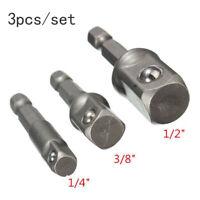 1/4″ 3/8″1/2″ Magnetico Esagonale Presa Metrica Impatto Trapano Adattatore