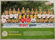 Mannschaftsposter Meister Borussia Dortmund von 2002 (DIN A3)