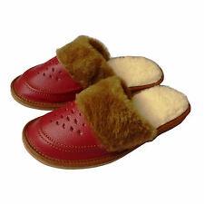 Comfortable Ladies, Women`s,  Quality Leather Winter Slippers, All Size, Slip On